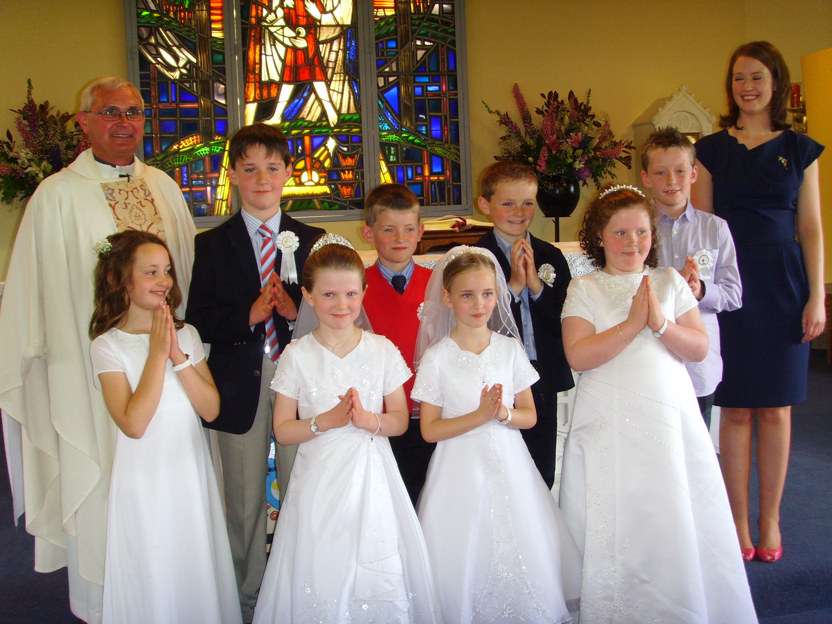 First Holy Communion Clondulane NS - First Communion Hairstyles