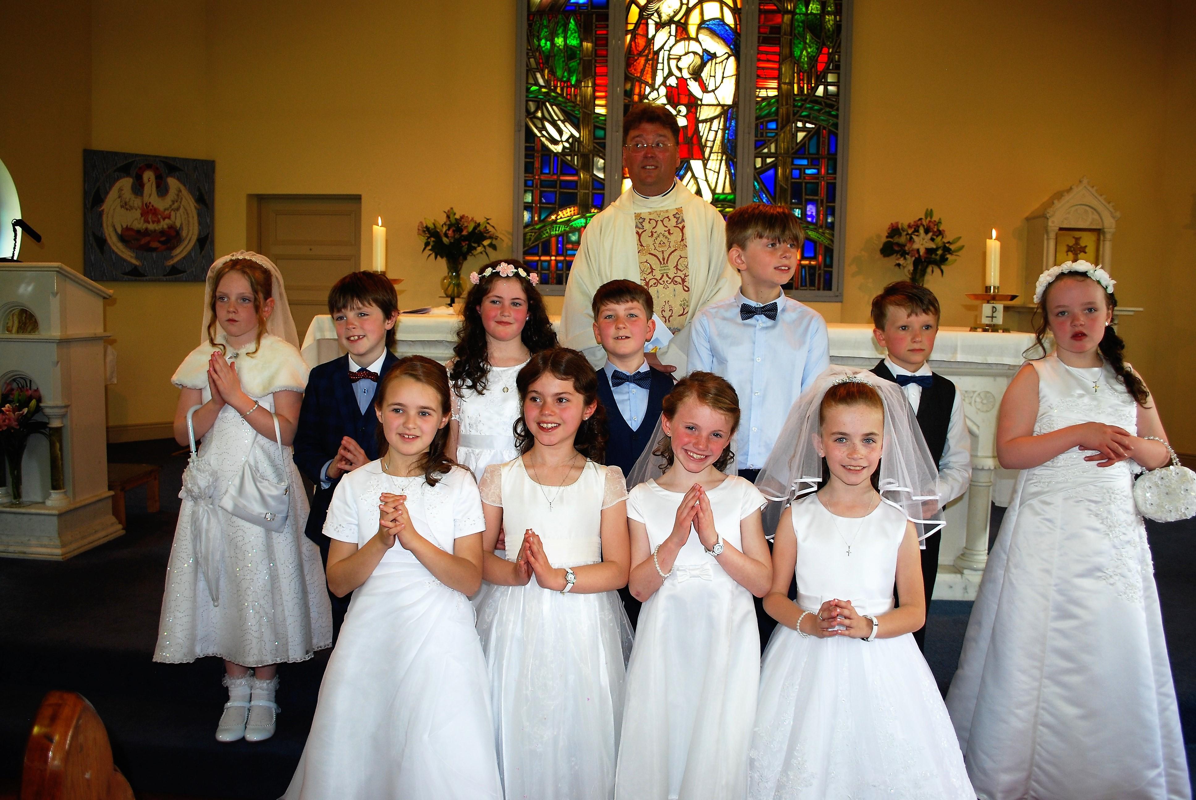 first holy communion clondulane ns